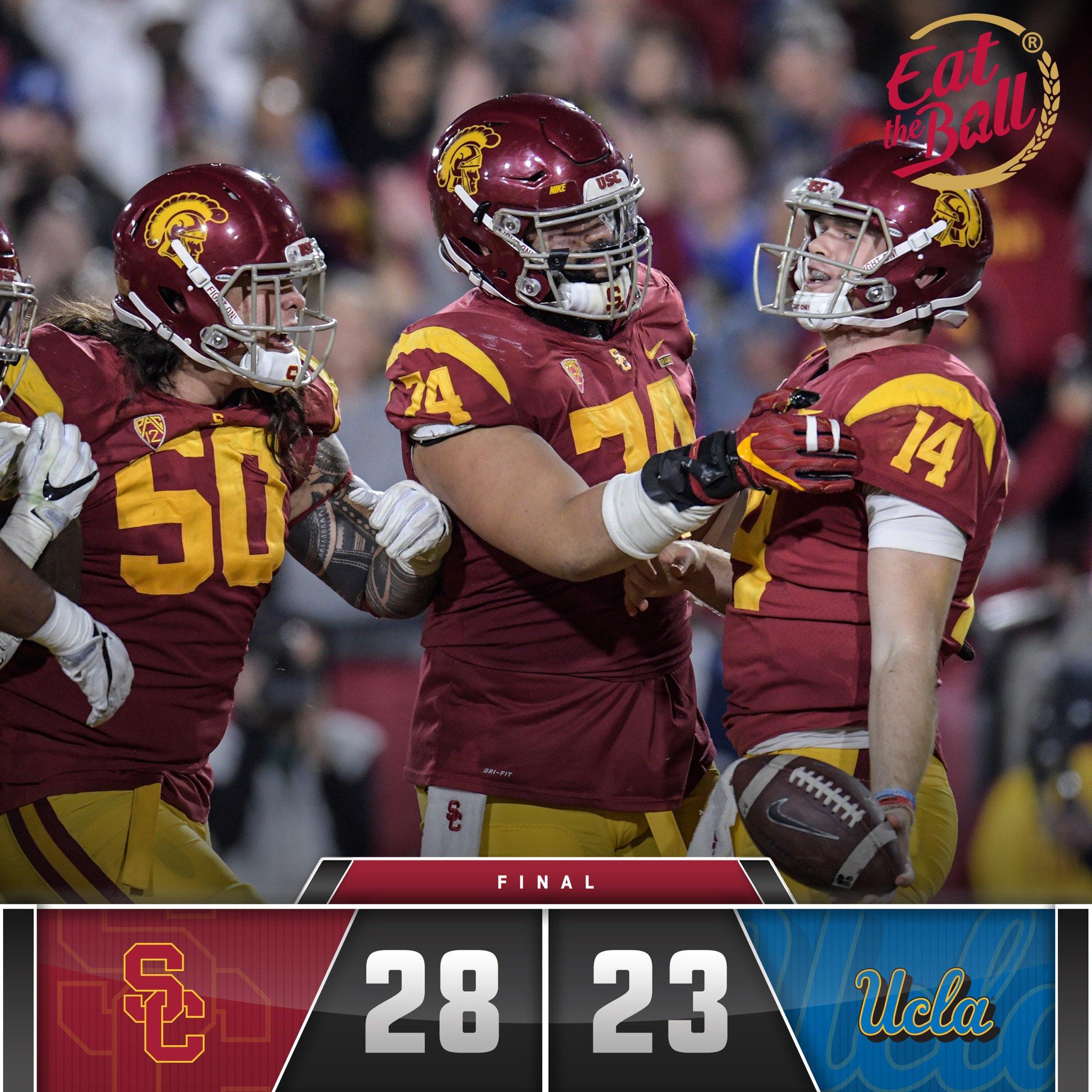 USC derrota UCLA por 28 a 23