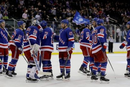 De virada, Rangers vencem Golden Knights no Madison Square Garden