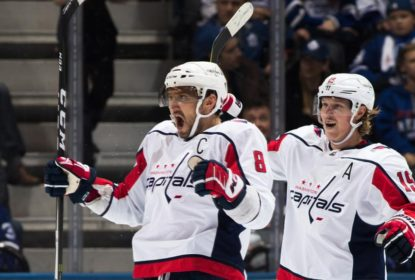 Ovechkin anota 20º hat trick da carreira e Capitals vencem Maple Leafs