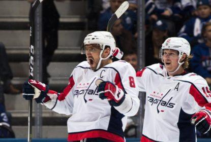 Ovechkin anota 20º hat trick da carreira e Capitals vencem Maple Leafs - The Playoffs