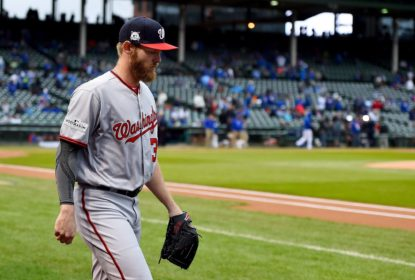 Arremessador Stephen Strasburg é adicionado a lista de lesionados dos Nationals - The Playoffs