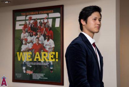 Shohei Ohtani se despede do seu time no Japão rumo à MLB - The Playoffs