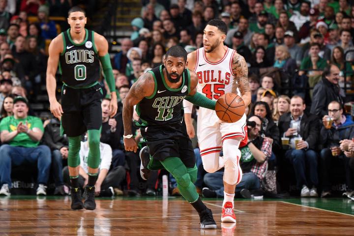 Com terceiro quarto arrasador, Celtics vencem Bulls