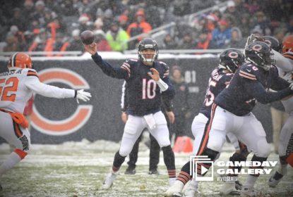 Chicago Bears vence Cleveland Browns em boa partida de Mitchell Trubisky - The Playoffs