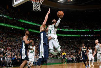 Com retorno de Kyrie Irving, Celtics vencem Nuggets em casa - The Playoffs