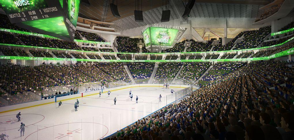 Conselho de Seattle aprova reforma de arena para futura expansão da nhl