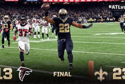Defesa de New Orleans domina jogo e Saints vencem Falcons - The Playoffs