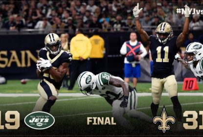 Em jogo duro, Saints vencem Jets e seguem na ponta da NFC South - The Playoffs