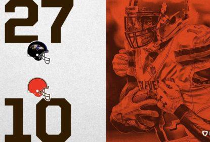 Ravens vencem Browns e seguem na briga por vaga nos playoffs - The Playoffs
