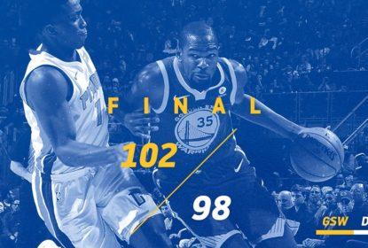 Durant anota 36 pontos e Warriors batem Pistons - The Playoffs