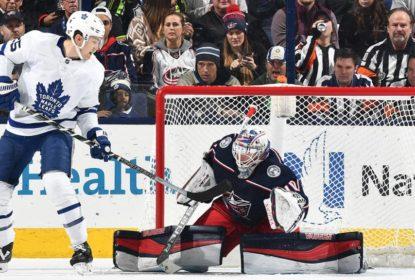 Tortorella manda recado e Blue Jackets vencem os Leafs - The Playoffs