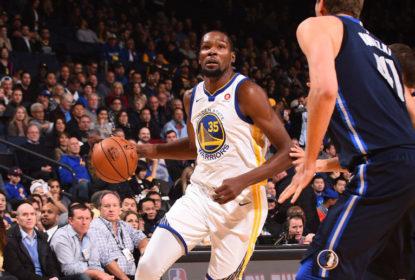 Iluminado, Kevin Durant lidera vitória do Golden State Warriors sobre o Dallas Mavericks - The Playoffs