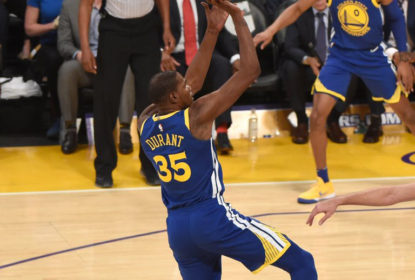 Kevin Durant decide e Golden State Warriors bate o Los Angeles Lakers em noite de festa - The Playoffs
