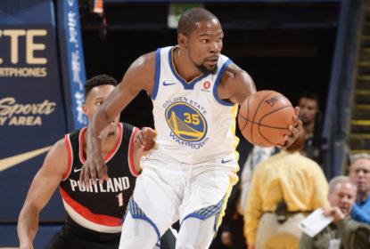 Sem Curry e Green, Golden State Warriors bate o Portland Trail Blazers em retorno a Oakland - The Playoffs