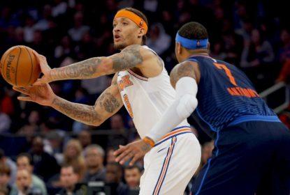 Na volta de Carmelo a Nova Iorque, Knicks vence Thunder