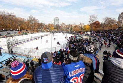 Jogadores dos Rangers vão de metrô para treino no Central Park - The Playoffs