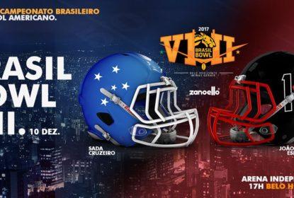 Brasil Bowl VIII terá transmissão ao vivo dos canais Esporte Interativo - The Playoffs