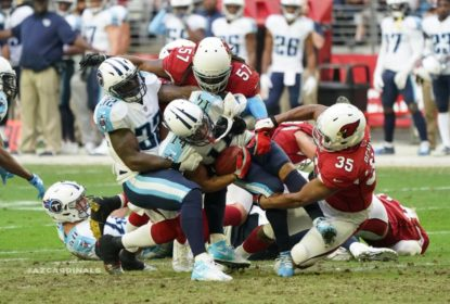 Arizona Cardinals segura Tennessee Titans e vence sem marcar touchdowns - The Playoffs