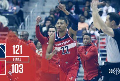 Cestas de três pontos decidem vitória do Washington Wizards sobre o Houston Rockets - The Playoffs