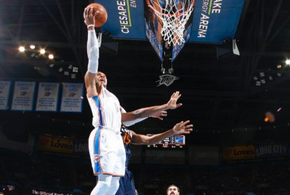 Com triple-double de Russell Westbrook, Thunder vence Jazz - The Playoffs