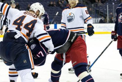 Dubinsky quebra osso facial em briga com Kassian - The Playoffs