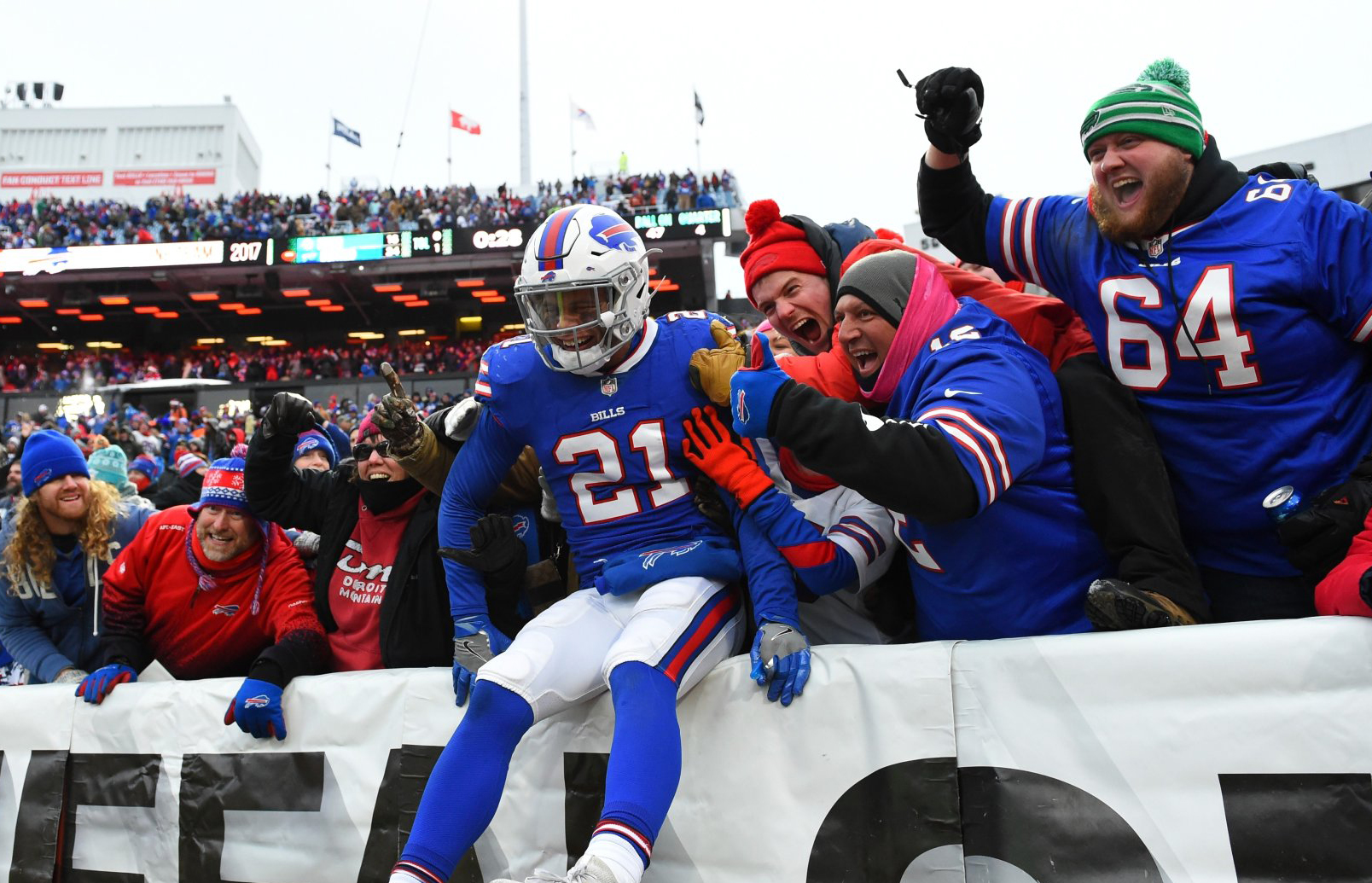 Bills vencem dolphins