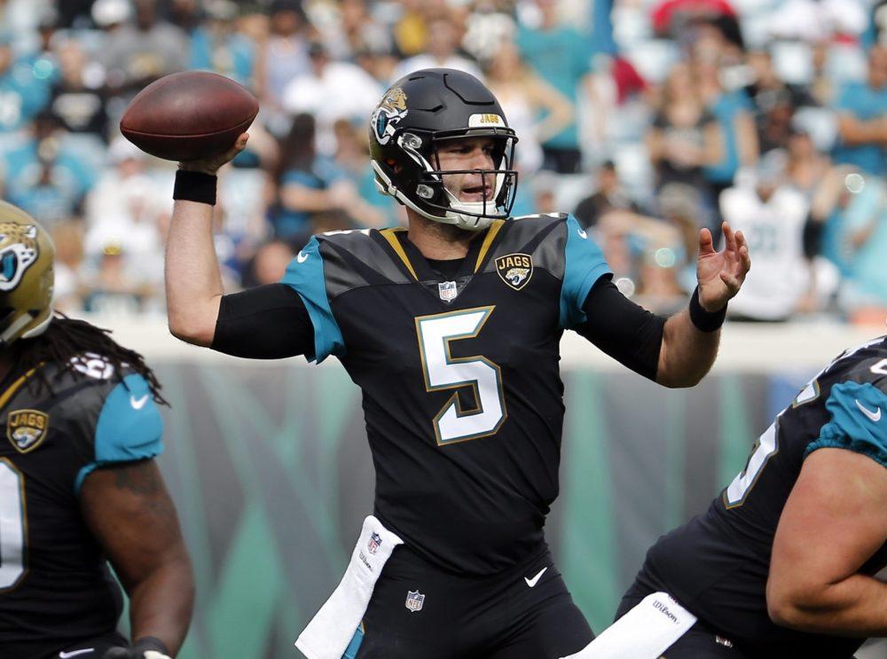 Blake Bortles teve atuação sólida na vitória do Jacksonville Jaguars sobre o Indianapolis Colts