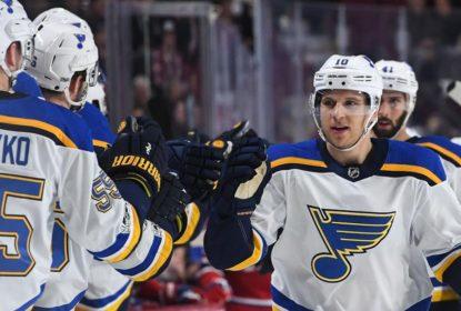 Com hat trick de Brayden Schenn, Blues derrotam Canadiens - The Playoffs