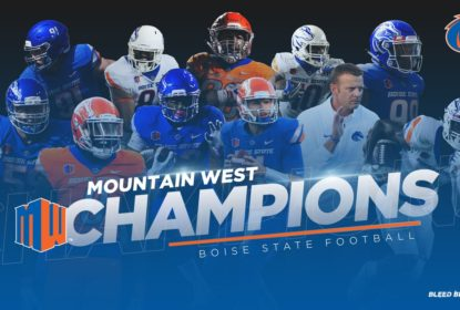 Boise State busca virada no fim, bate Fresno State e é campeã da Conferência Mountain West - The Playoffs