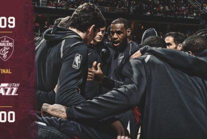 Com triplo-duplo de LeBron James, Cavs vencem Jazz em casa - The Playoffs