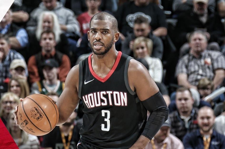 Chris Paul passa perto de triple-double em vitória dos Rockets