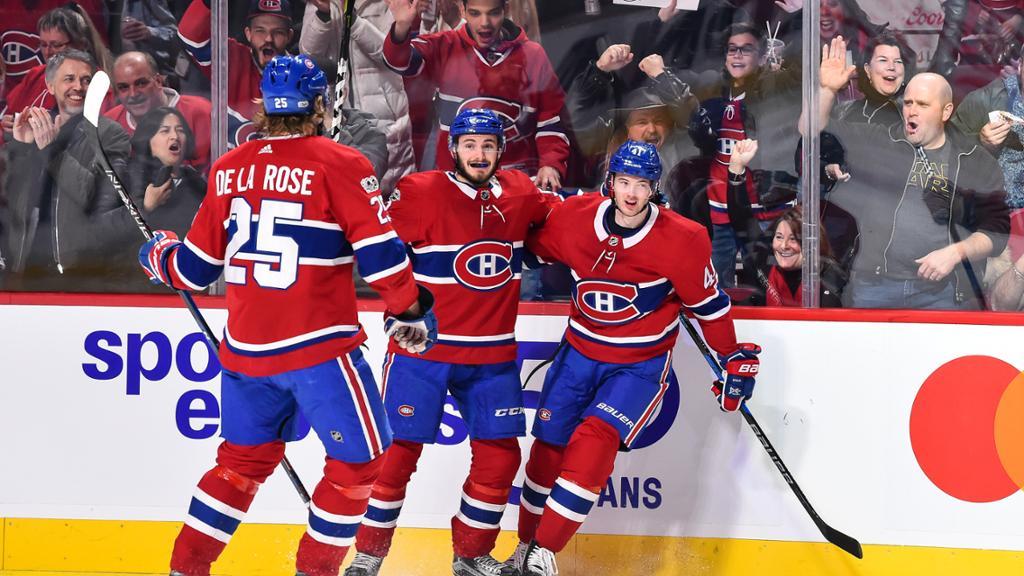 Canadiens goleiam Red Wings e alcançam 5ª vitória seguida