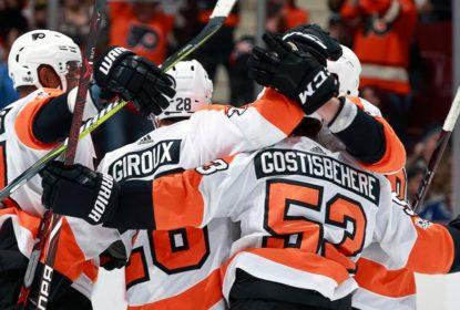 Gostisbehere e Giroux impulsionam vitória dos Flyers contra Canucks - The Playoffs