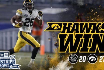 Com bom segundo tempo, Iowa derruba Boston College e leva o Pinstripe Bowl - The Playoffs