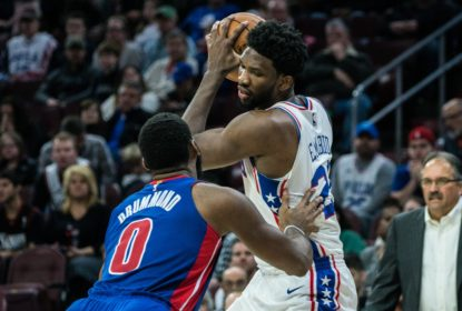 Em reencontro de Embiid e Drummond, Sixers vencem Pistons - The Playoffs