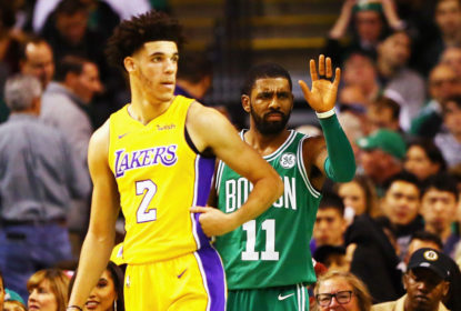 Depois de Anthony Davis ser confirmado, Kyrie Irving é especulado no Los Angeles Lakers - The Playoffs