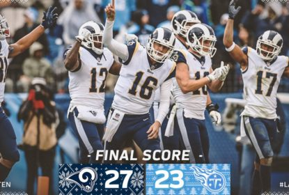 Los Angeles Rams bate Tennessee Titans e conquista NFC West - The Playoffs