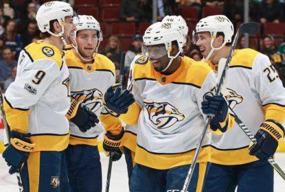 Predators goleiam Canucks e chegam à nona vitória em 12 jogos - The Playoffs
