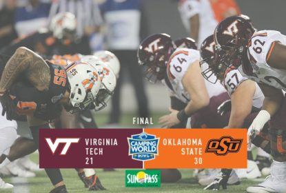 Oklahoma State vence Virginia Tech e conquista o Camping World Bowl - The Playoffs