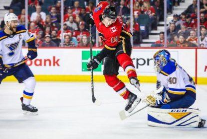 Em jogo emocionante, Calgary Flames derrota St. Louis Blues - The Playoffs