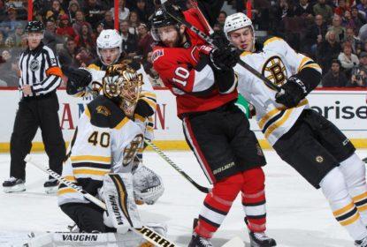 Rask brilha e Boston Bruins derrota Ottawa Senators - The Playoffs