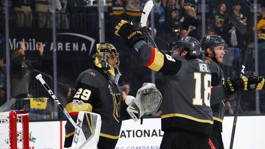 Golden Knights derrotam Penguins e disputa no Pacífico segue acirrada