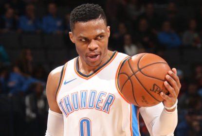 Russell Westbrook ameaça torcedor do Utah Jazz após sofrer provocações - The Playoffs