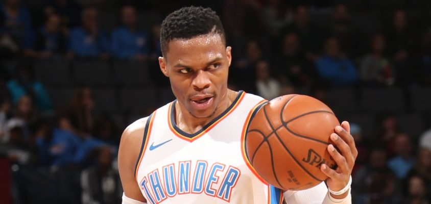 Westbrook garante vitória do Thunder contra Hawks