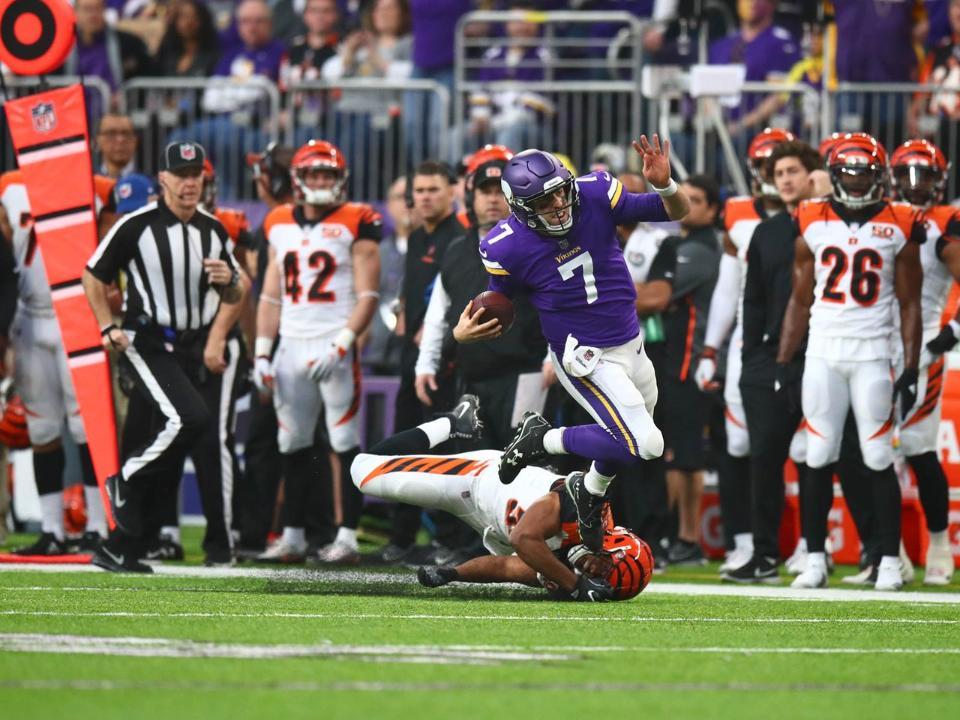 Minnesota Vikings garante vitória contra Cincinnati Bengals na Semana 15 da NFL.