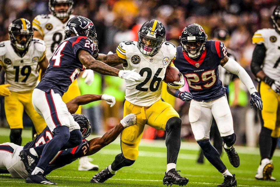 8698eceb37 Pittsburgh Steelers garante vitória contra Houston Texans na Semana 16 da  NFL. Péssima notícia ...