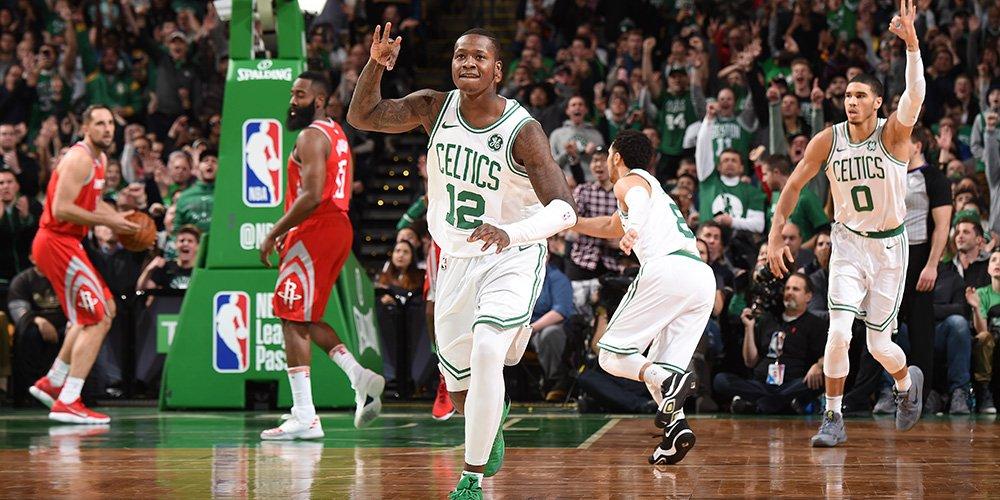 Terry Rozier brilha em vitória dos Rockets sobre Celtics