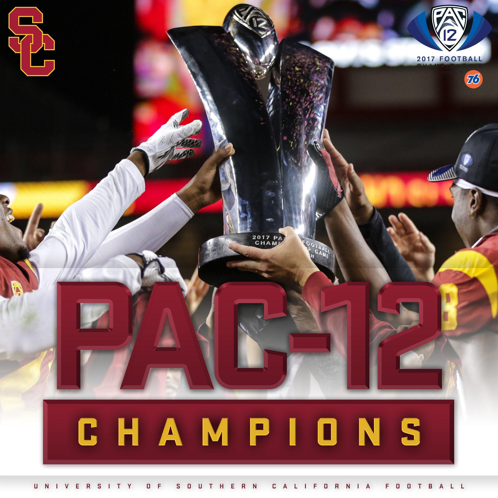 USC vence a Pac-12 em 2017