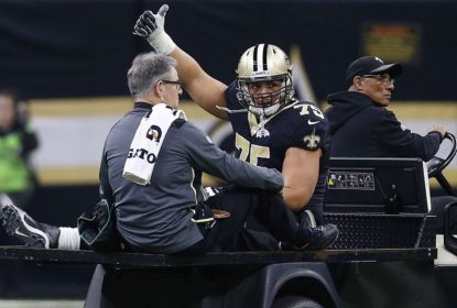 New Orleans Saints renova contrato de Andrus Peat - The Playoffs