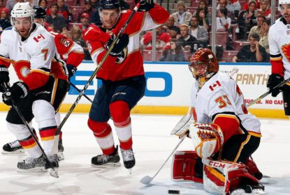 David Rittich fecha o gol e Flames vencem Panthers - The Playoffs